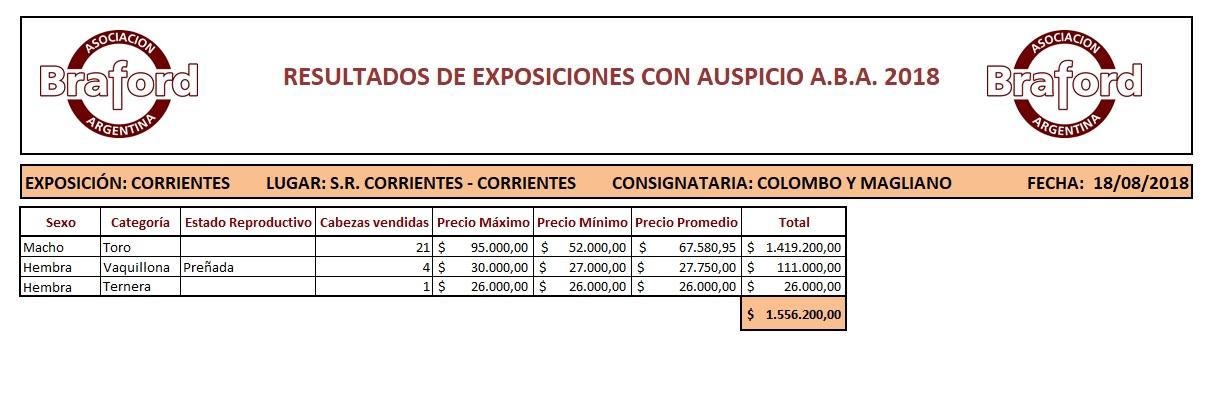 EXPO CORRIENTES 18.08