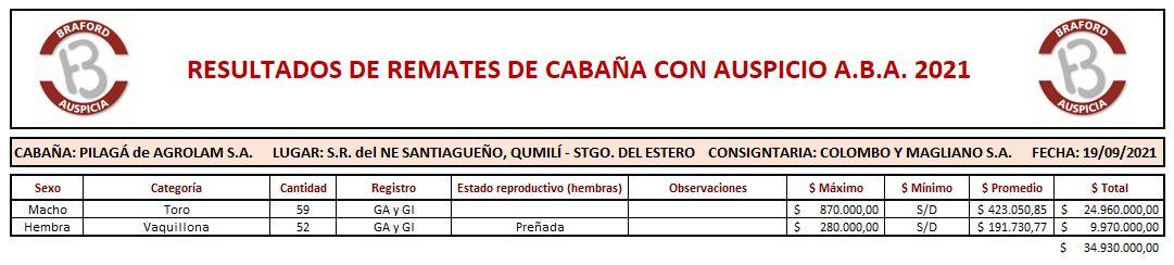 Cabaña Pilagá 19-9